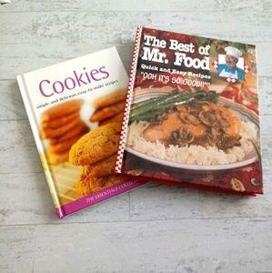 EUC SET OF 2 COOKBOOKS QUICK&EASY RECIPES, COOKIES